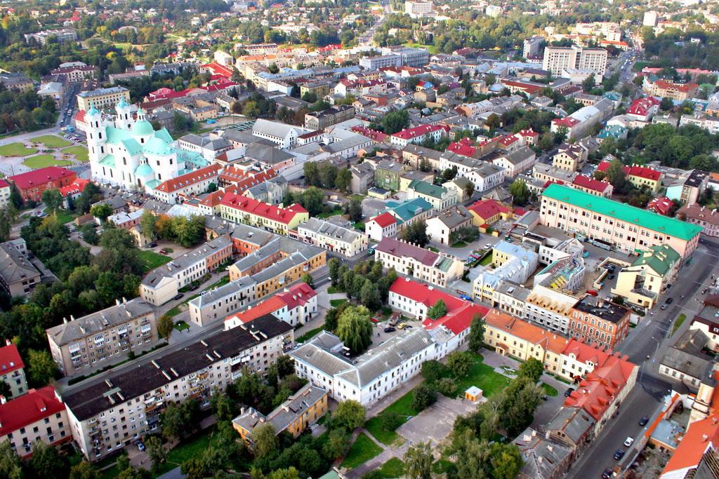 Фасады зданий в Гродно украсят декоративными картинами / фото носит иллюстративный характер