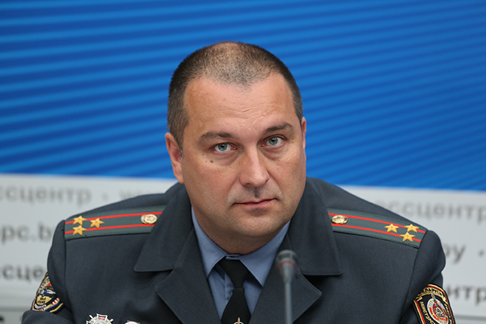 Новым начальником ГАИ Минска назначен полковник Гаркун