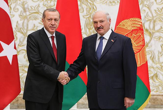 Лукашенко ожидает Эрдогана вМинске 11ноября