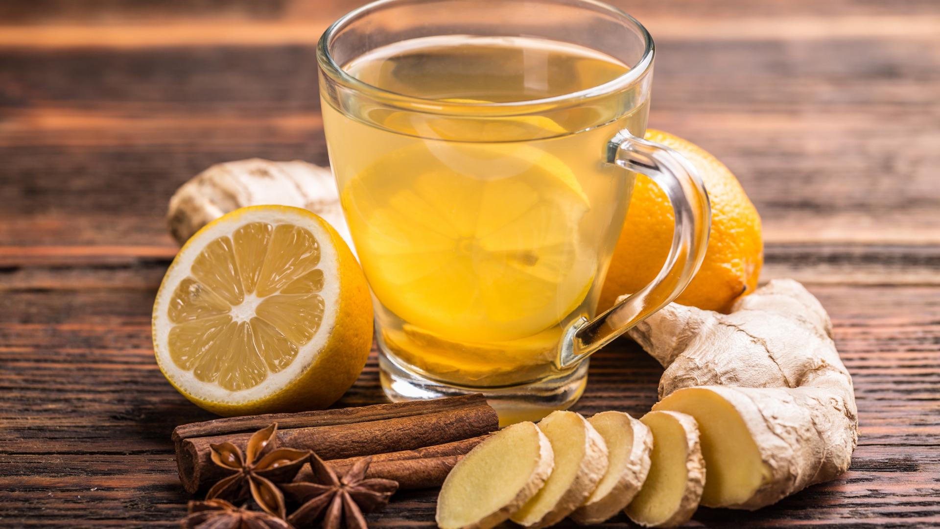 чай с имбирем успокаивает