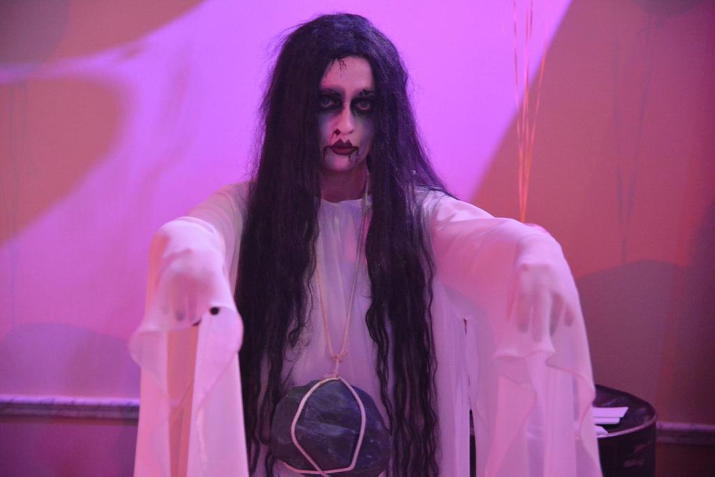 Как сделать макияж призрака на хэллоуин - Rental-k.ru