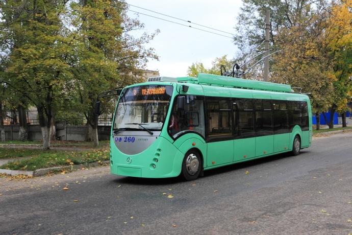 Троллейбус АКСМ-42003