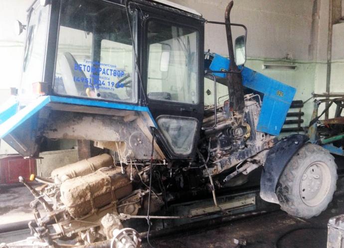 Ремонт трактора мтз 80