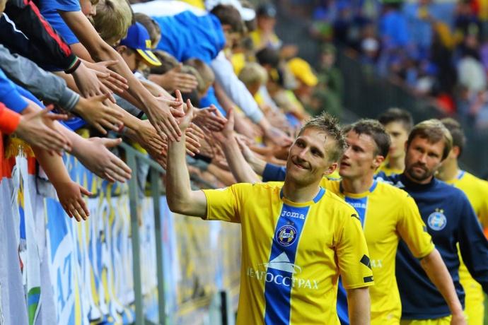 БАТЭ одержал победу над минском «Динамо» вбелорусском классико