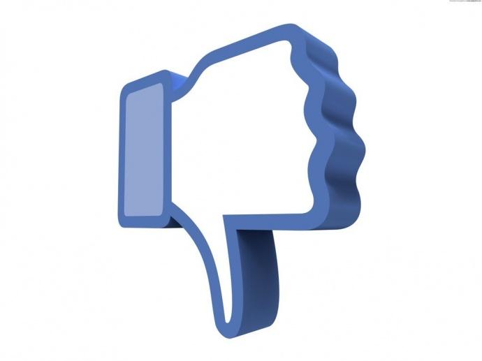 Скоро в Facebook появится аналог кнопки Dislike