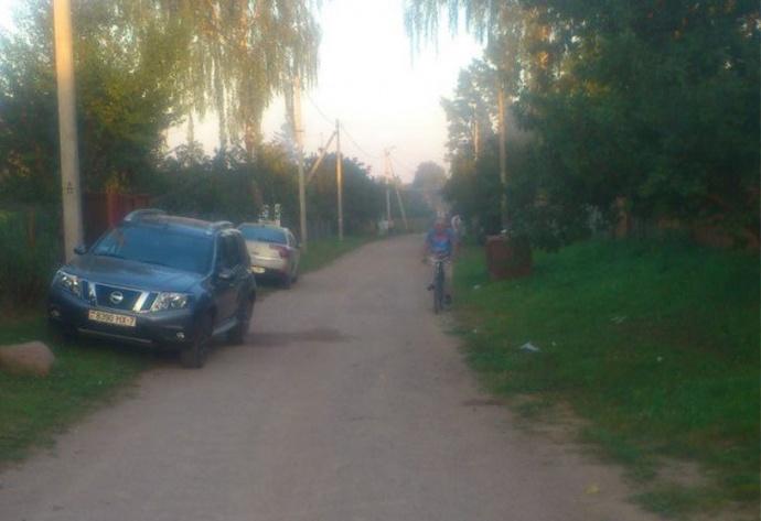 ВПуховичском районе нетрезвый шофёр Ситроен сбил бабушку и7-летнего внука