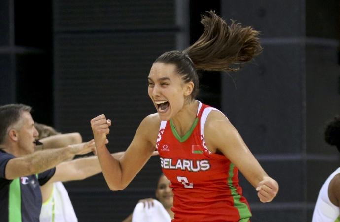 Белоруски добыли первую победу вбаскетбольном турнире вРио!