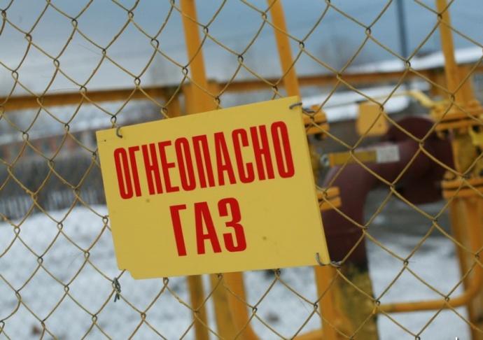 ВМинском районе произошел порыв газопровода