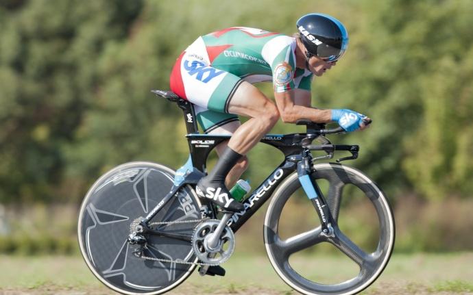 Кириенко волимпийской велогонке сраздельным стартом занял 17-е место