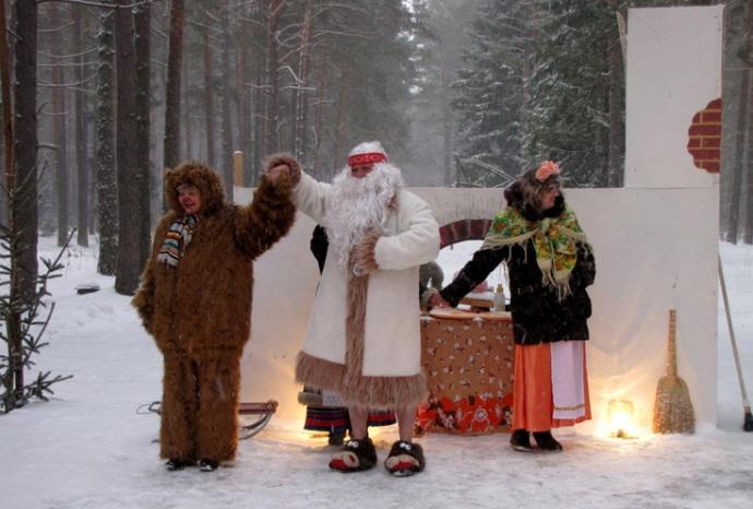 Информация детям о боге зимы зюзя картинки