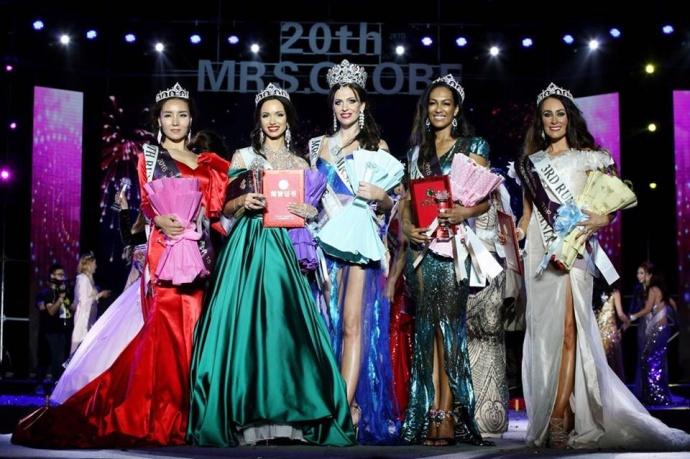 Белоруска стала первой наконкурсе красоты «Миссис Земной шар-2017»