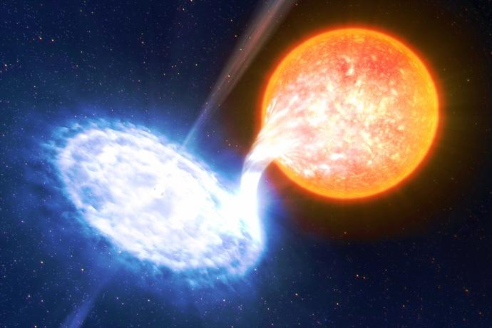 Земляне смогут увидеть рождение звезды невооруженным глазом