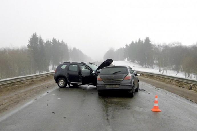Кошмарная автоавария под Минском: один изводителей попал вреанимацию