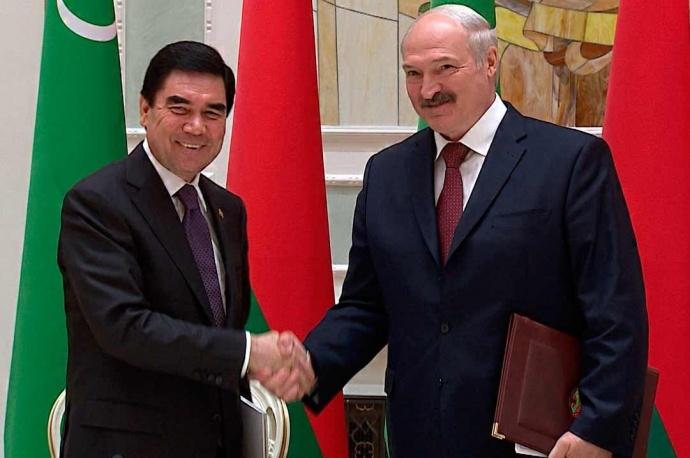 «Один наодин»: что обсуждают Лукашенко иБердымухамедов