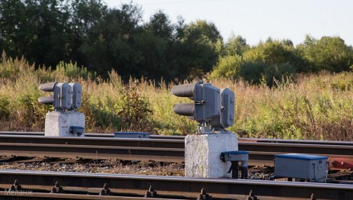 Охотник зацветметом разобрал часть железной дороги вГродно