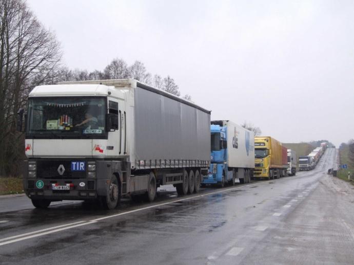 Около 700 фур ожидают выезда из Беларуссии
