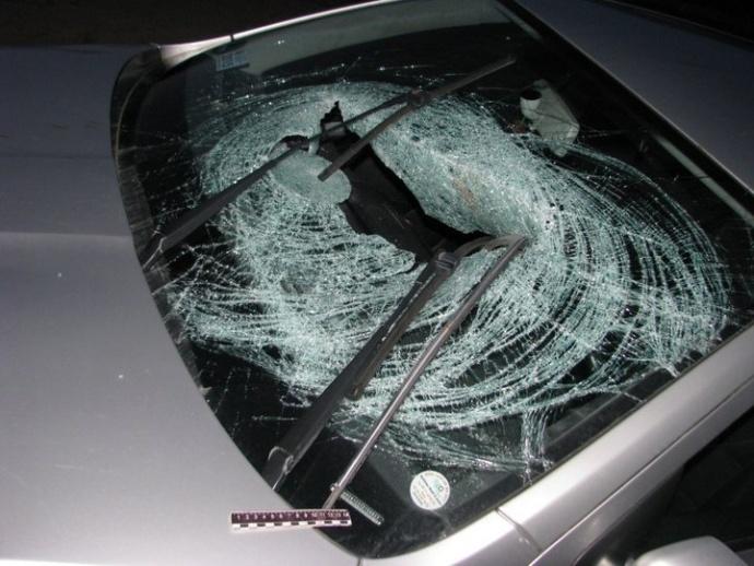 ВКрупском районе нетрезвый шофёр сбил 2-х пешеходов