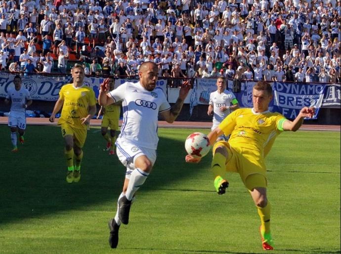 Футболисты брестского «Динамо» завоевали Кубок Белоруссии ипропуск вЛигу Европы