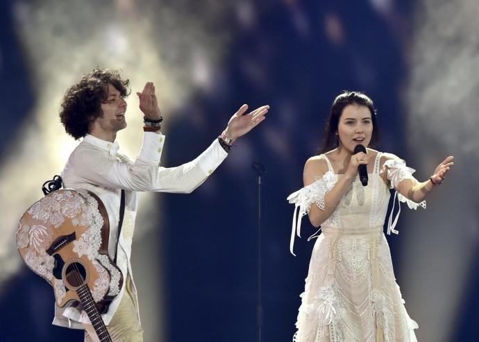 NaviBand заняла 17-е место наЕвровидении