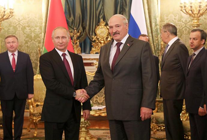 Путин иЛукашенко обсудили общие перспективы инновационного развития