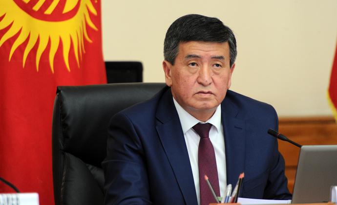 Жээнбеков: Выборы вКиргизии показали, что только народ решает судьбу собственной страны