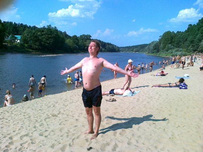 Фото с пляжей в гродно